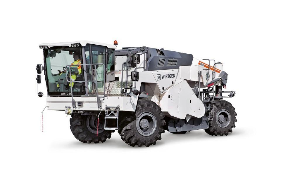 Wirtgen America, Inc. - WR 240i Soil Stabilizers