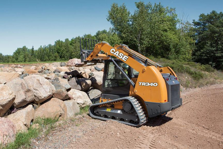Case Construction Equipment - TR340 Compact Track Loaders