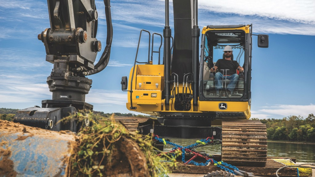 John Deere adds grade guidance to 210G LC excavator and makes customer-driven updates to 130G - 470G LC models