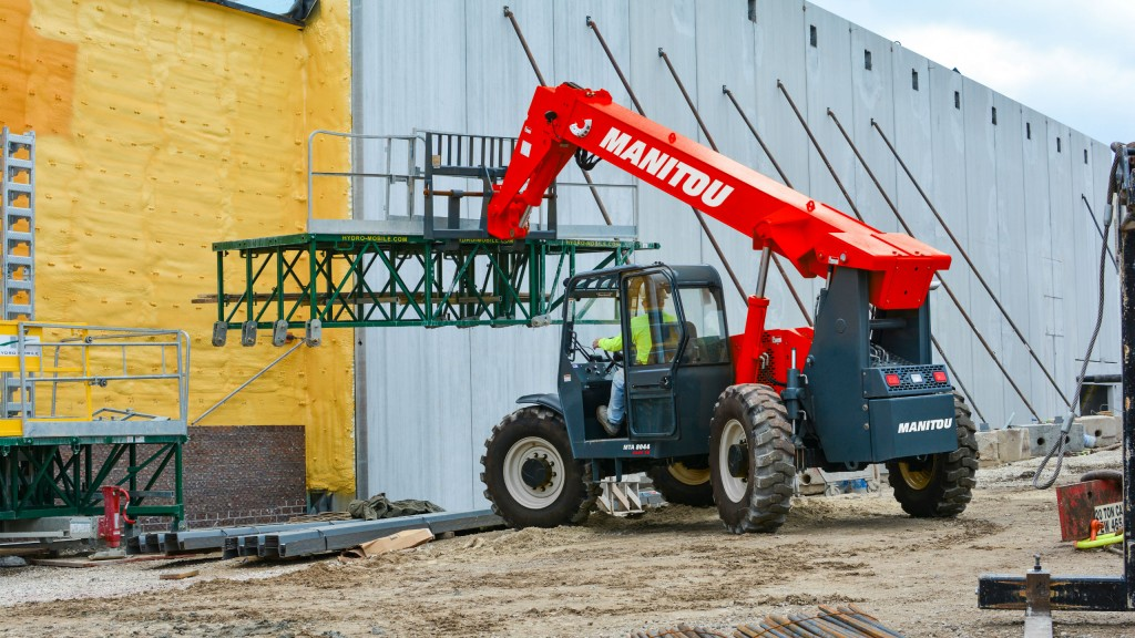 Manitou adds three new rental-focused MTA Easy74 telehandlers for North America
