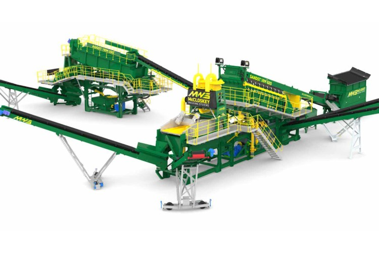 McCloskey Washing Systems - AGGSTORM 150 Sand & Aggregates Washing plants