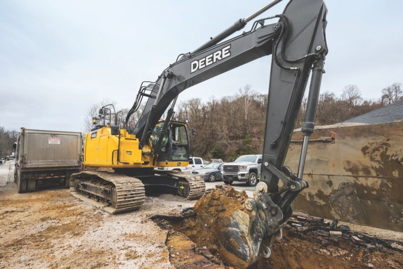 John Deere Construction & Forestry - 345G LC Excavators