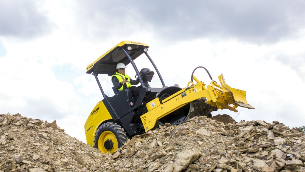 New generation Bomag single-drum rollers climb steep grades, provide intuitive compaction control