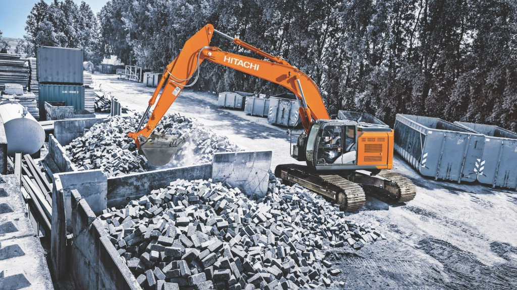 New Hitachi ultrashort excavator delivers power and efficiency in tight spaces
