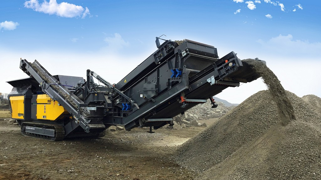 Rubble Master's new RM 120GO! impactor designed for high-performance on-site crushing
