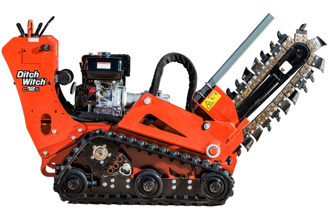 Ditch Witch - C12X Walk Behind Trenchers