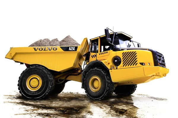 Volvo Construction Equipment - A25E Articulated Dump Trucks