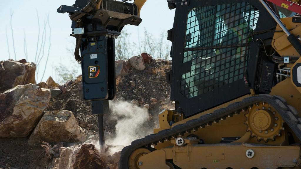 Cat B-Prefix Hammers feature low owning and operating costs, versatility, ease of use