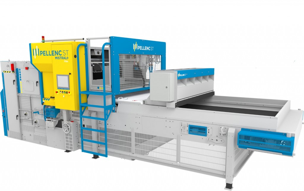 Pellenc ST's latest top speed option sorts film at 4.5m/s