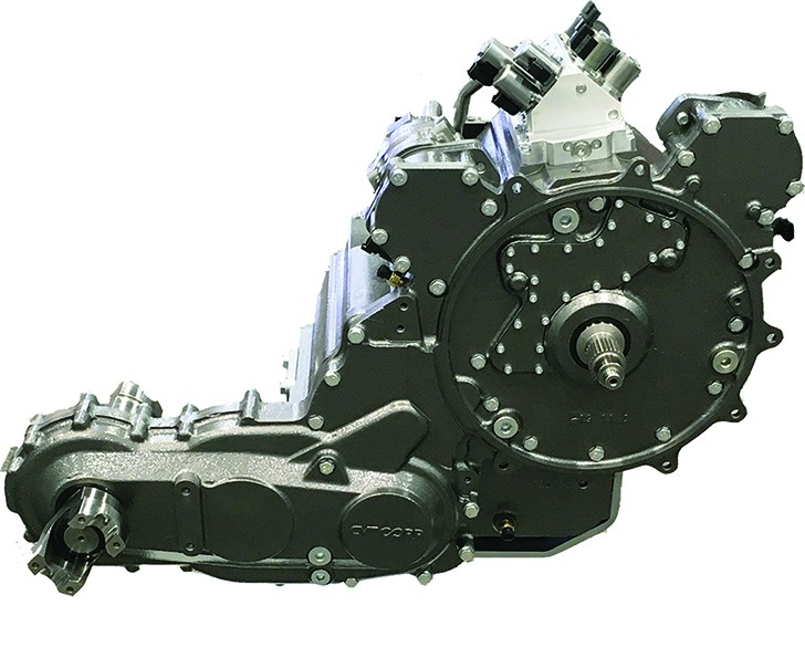 ECOMEC 150 continuously variable transmission offers significant advantages