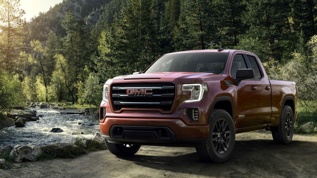 Next Generation 2019 GMC Sierra Elevation makes a statement in design, capability and advanced connectivity.