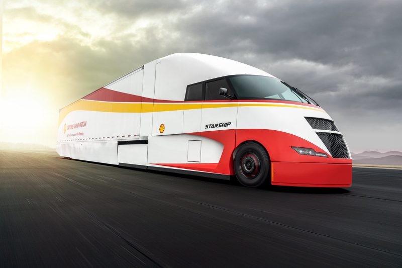 Shell Rotella - AirFlow Starship Vocational Trucks