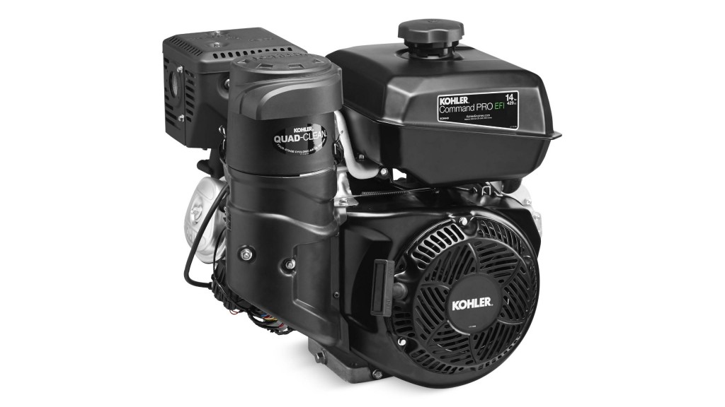 Kohler single-cylinder engine integrates closed-loop EFI