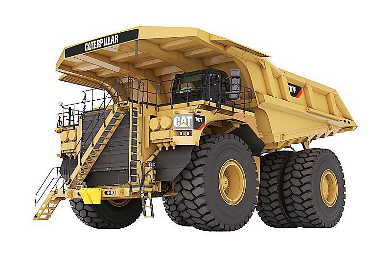 Caterpillar Inc. - 797F Mining Trucks