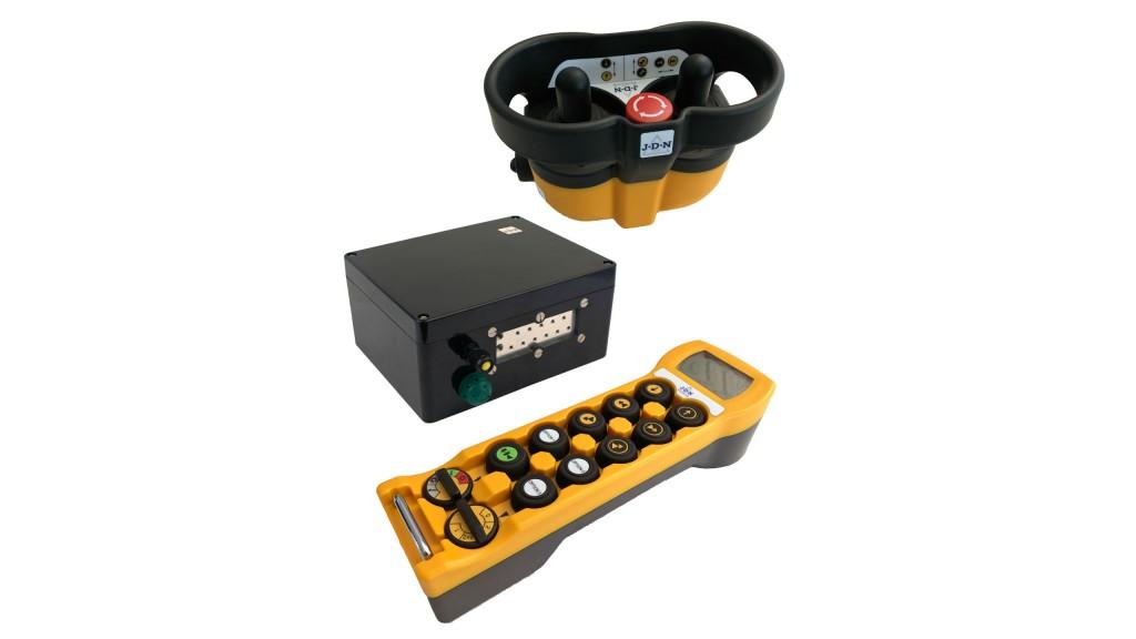 Radio remote control offered for J D Neuhaus hoists and cranes