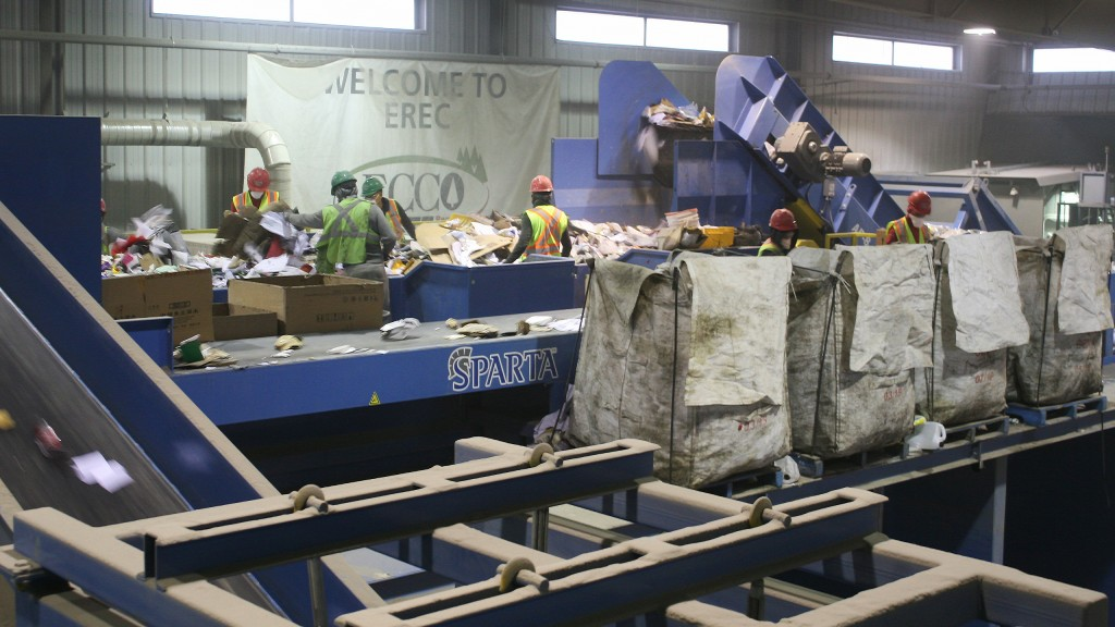 Calgary's ECCO Recycling successfully integrates commercial single-stream processing into existing C&D MRF footprint
