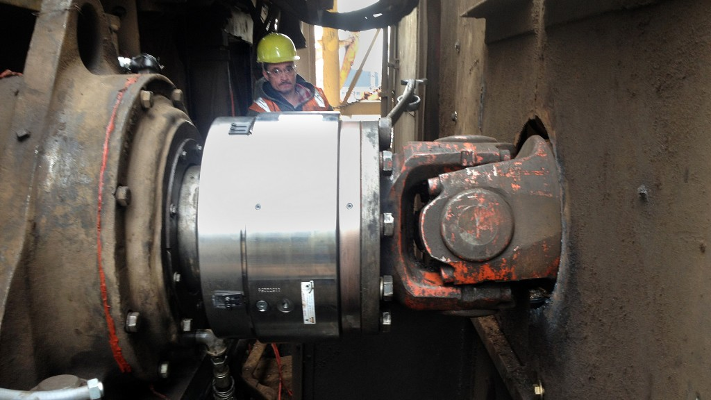 City Scrap & Salvage recently installed Voith Turbo's SafeSet torque limiting coupling on their auto shredder driveline to prevent catastrophic failure and downtime.