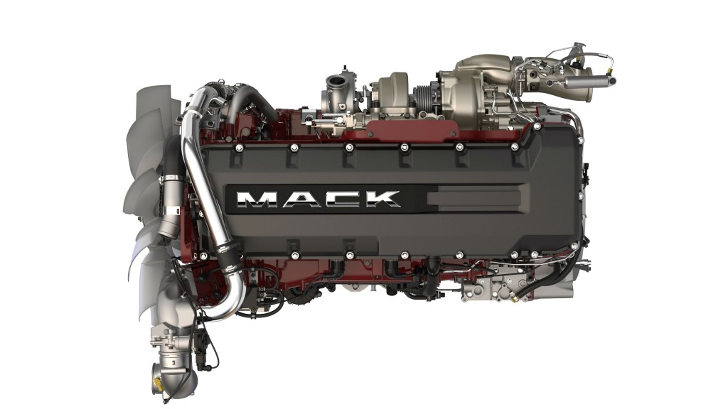 Mack introduces new fuel-efficient engine package for Anthem trucks