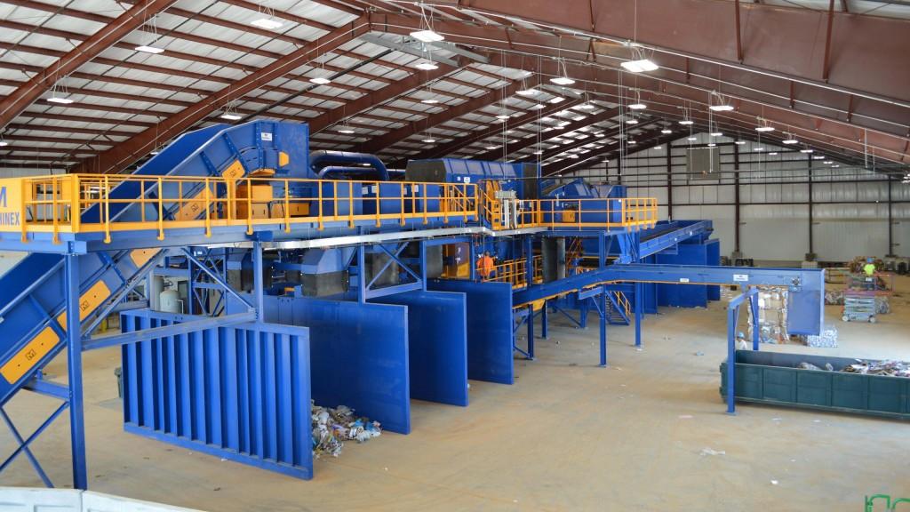 Machinex provides new single-stream MRF to York County, South Carolina