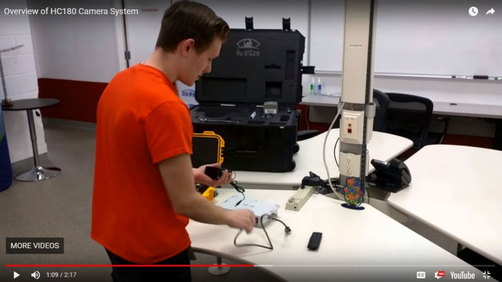Video demonstration of the HC180 is one of several new videos available in customer online support.