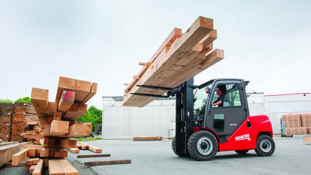 Manitou adds eight diesel and four electric models to industrial forklift range