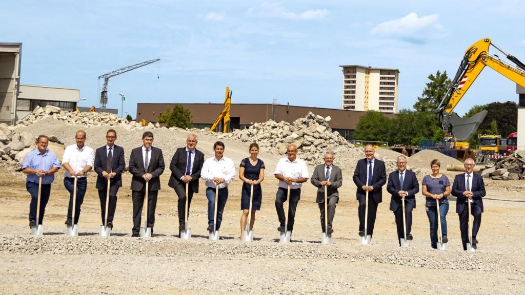 Liebherr breaks ground on new logistics centre