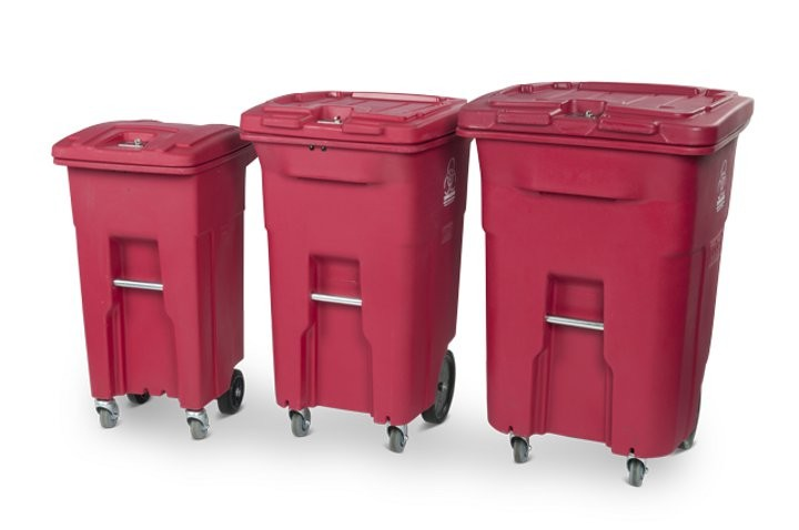 Toter launches 32-gallon medical waste cart