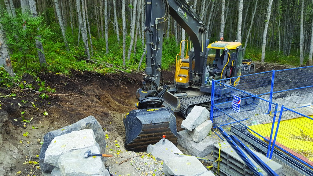 Engcon tiltrotator helps contractor get the most out of an excavator