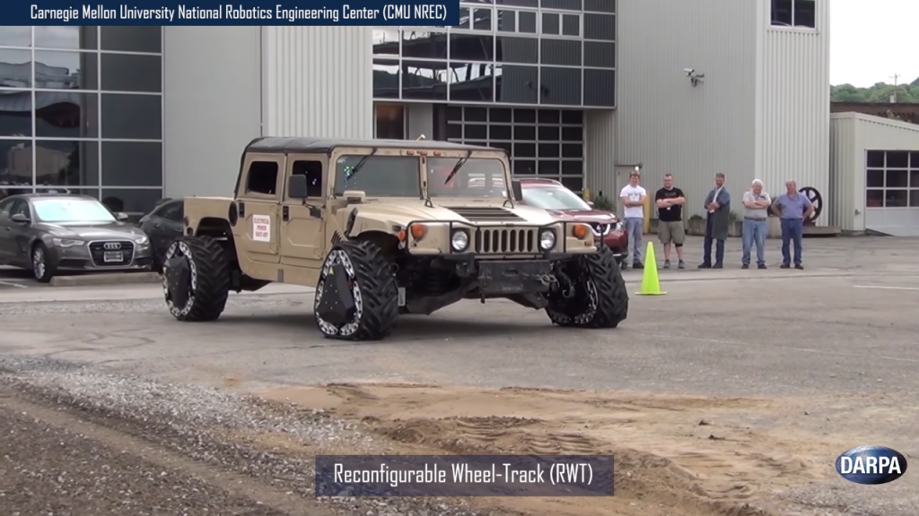 Watch: U.S. military tests groundbreaking wheel-to-track technology and more
