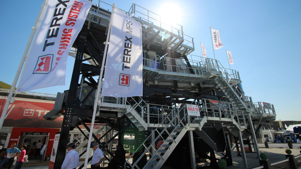 Terex Washing Systems had a successful display at Hillhead 2018, featuring two new products.