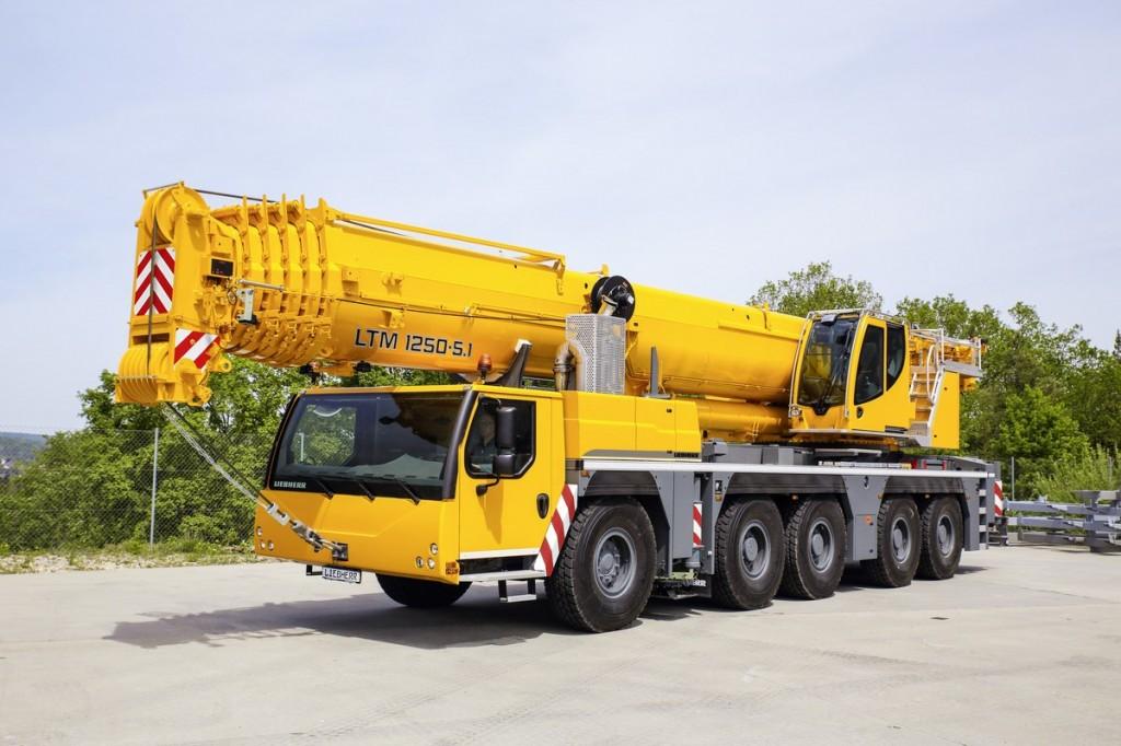 Liebherr Canada - LTM 1250-5.1 Mobile Cranes