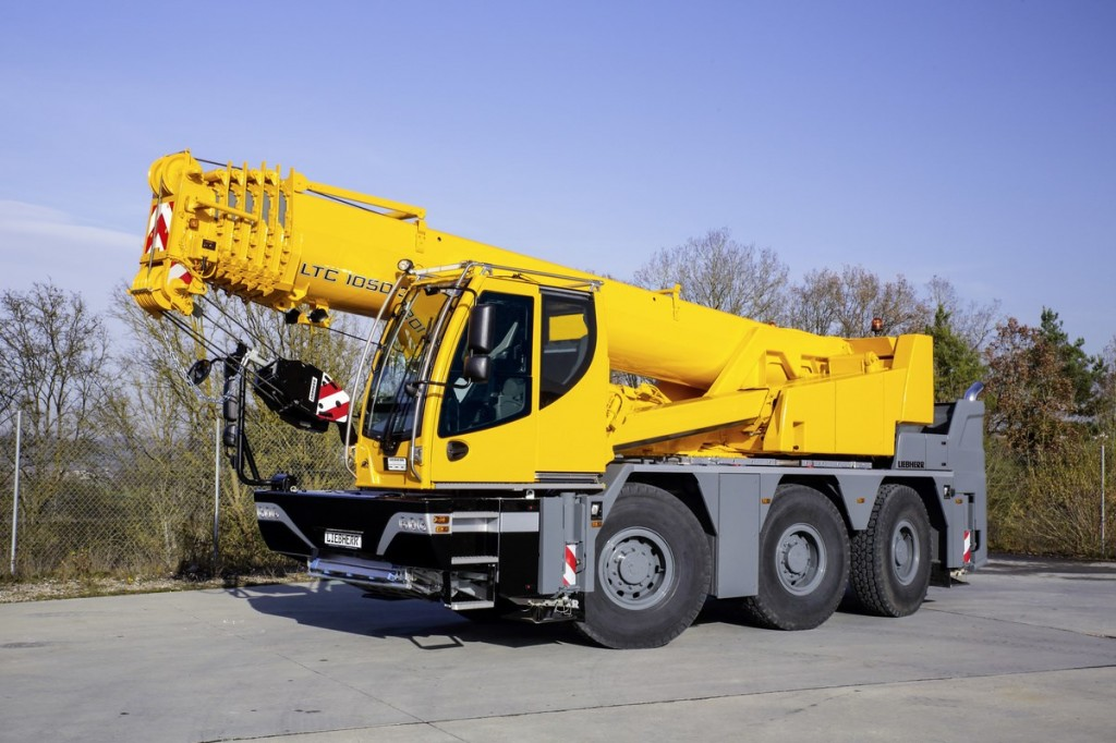 Liebherr Canada - LTC 1050-3.1 Mobile Cranes