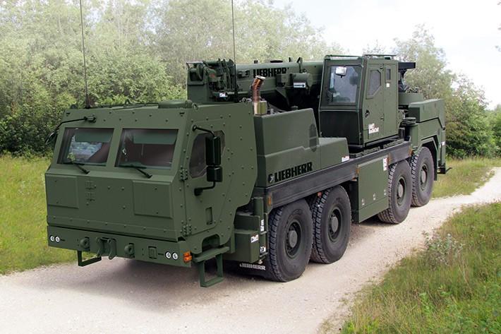 Liebherr Canada - G-BKF Mobile Cranes