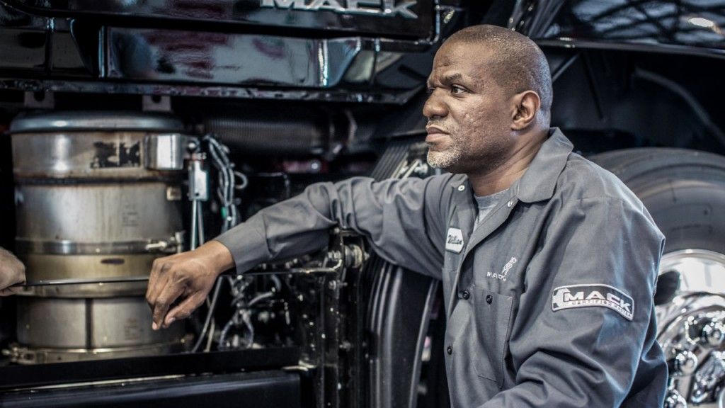 Mack Trucks is working to expand diesel technician training.