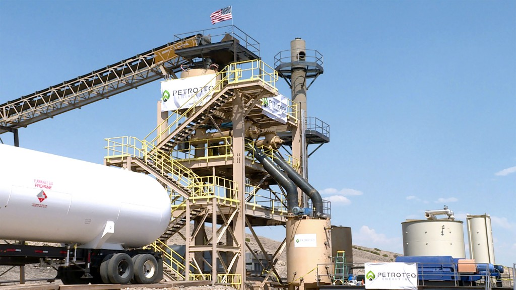 Petroteq to test equipment for non-conventional oil production
