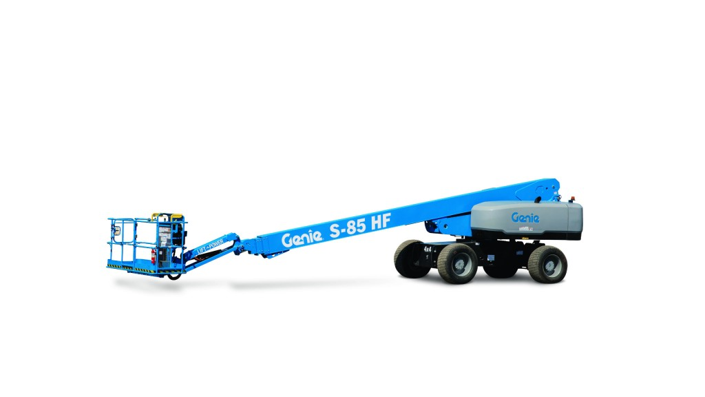 New Genie high float booms perform heavy lifting tasks on
