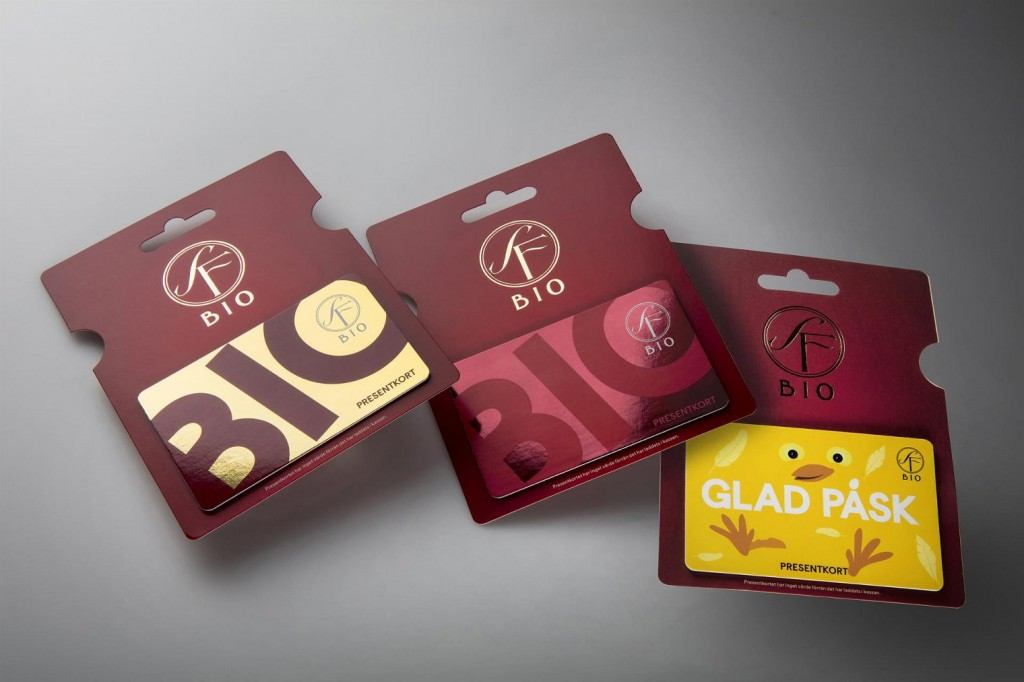 Gift cards using paperboard rather than plastic materials can drastically reduce  environmental impact of the product, according to Iggesund Paperboard.