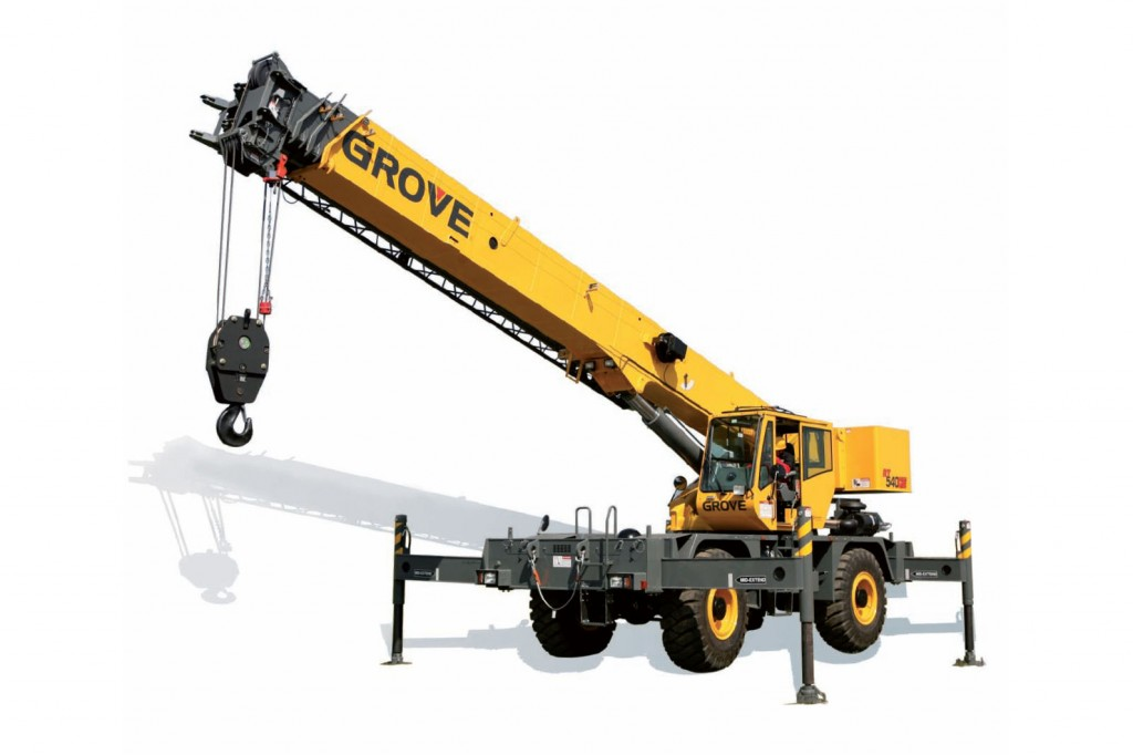 Manitowoc Company, Inc - RT540E Rough Terrain Cranes