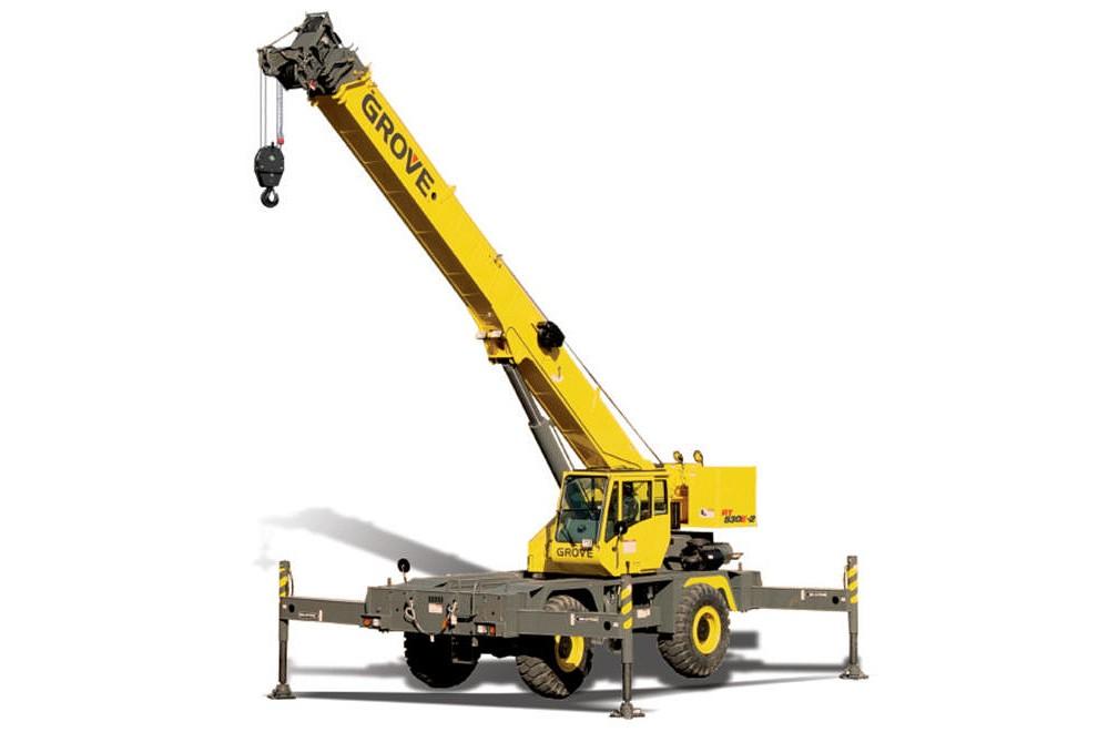 Manitowoc Company, Inc - RT530E-2 Rough Terrain Cranes