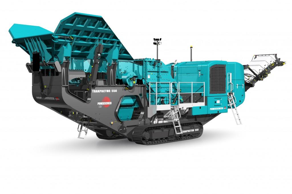 Powerscreen Canada - Trakpactor 550SR Crushing Plants