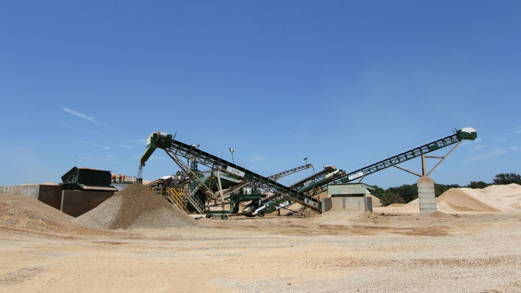 Texas-based sand and gravel company relocates its CDE wet processing plant to new site to optimize return on investment