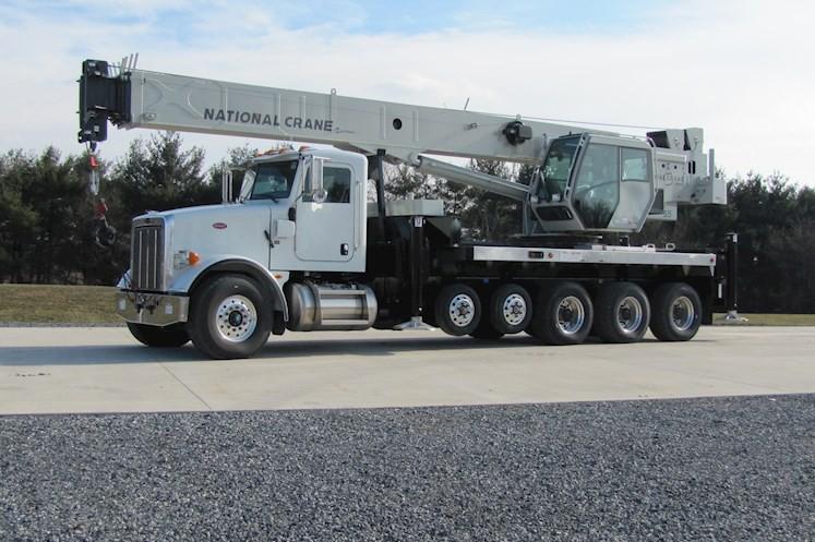 Manitowoc Company, Inc - NBT55 Truck Mounted Cranes