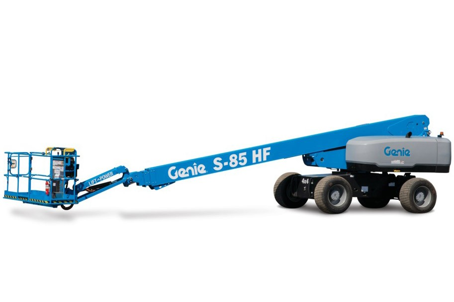 Genie - A Terex Brand - S-80 HF and S-85 HF Telescopic Boom Lifts