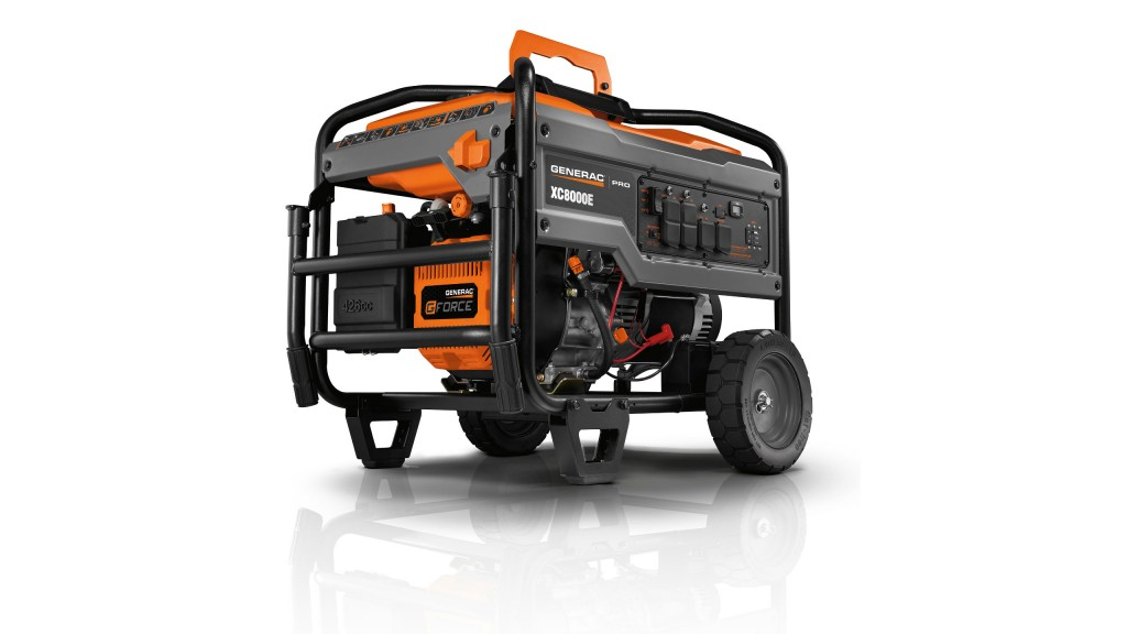 Generac Pro Line portable generators built to endure tough jobsites