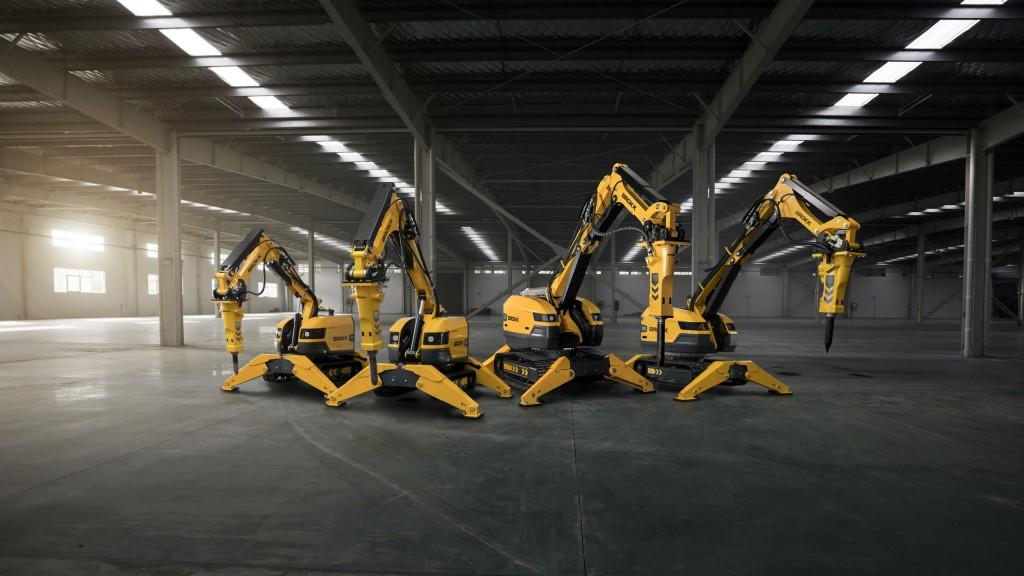 Brokk's next-generation demolition machines get power-to-weight boost