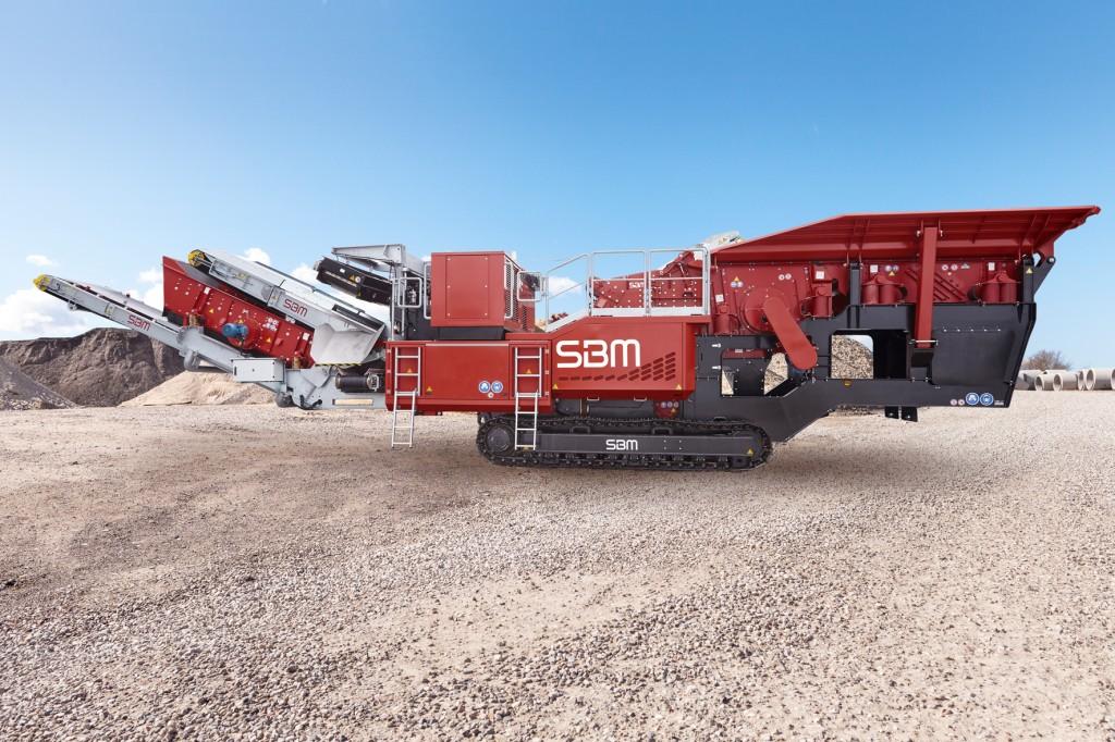 SBM Mineral Processing - REMAX 500 Crushing Plants