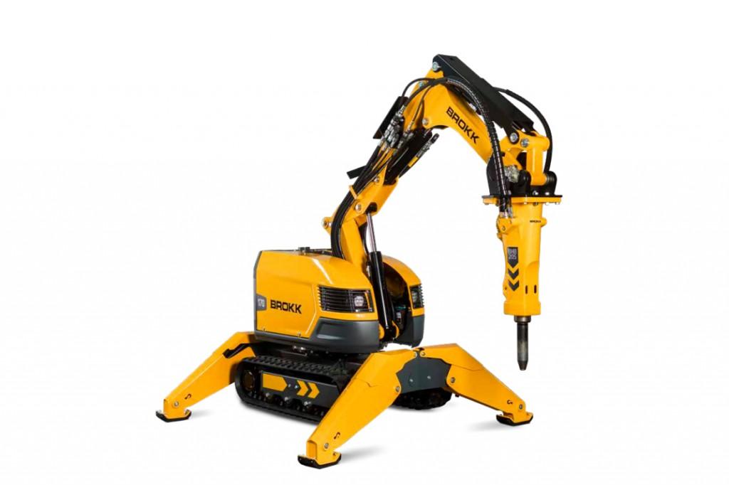 Brokk USA - Brokk 170 Demolition Robots