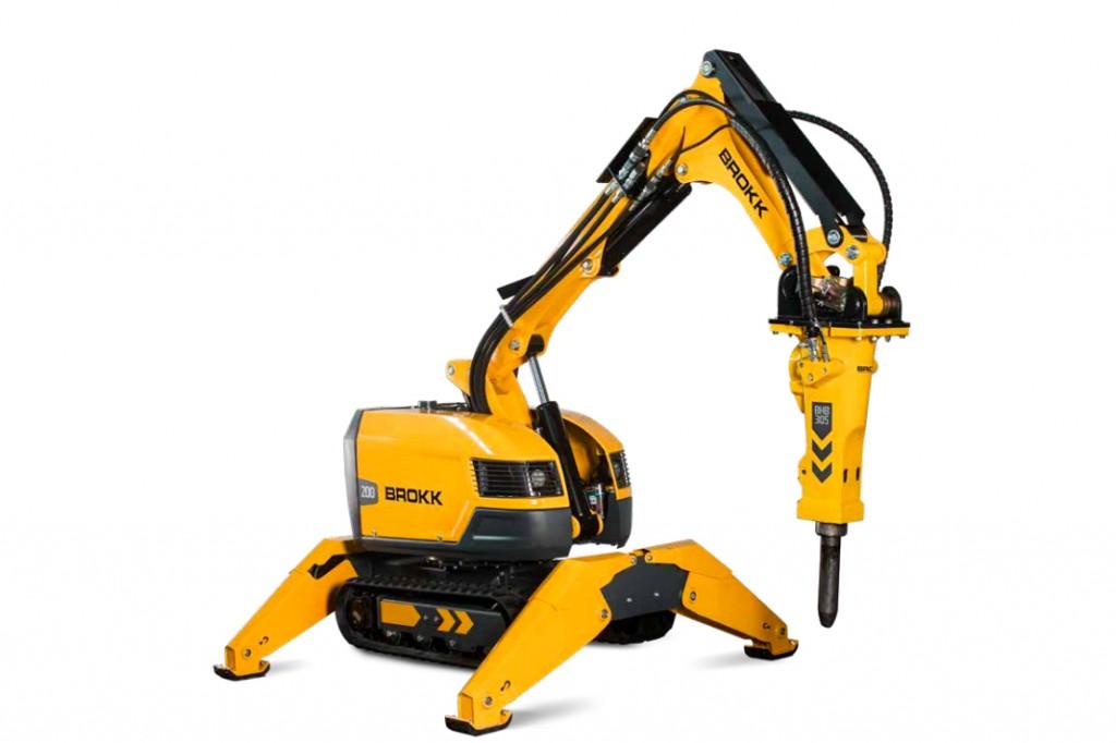 Brokk USA - Brokk 200 Demolition Robots