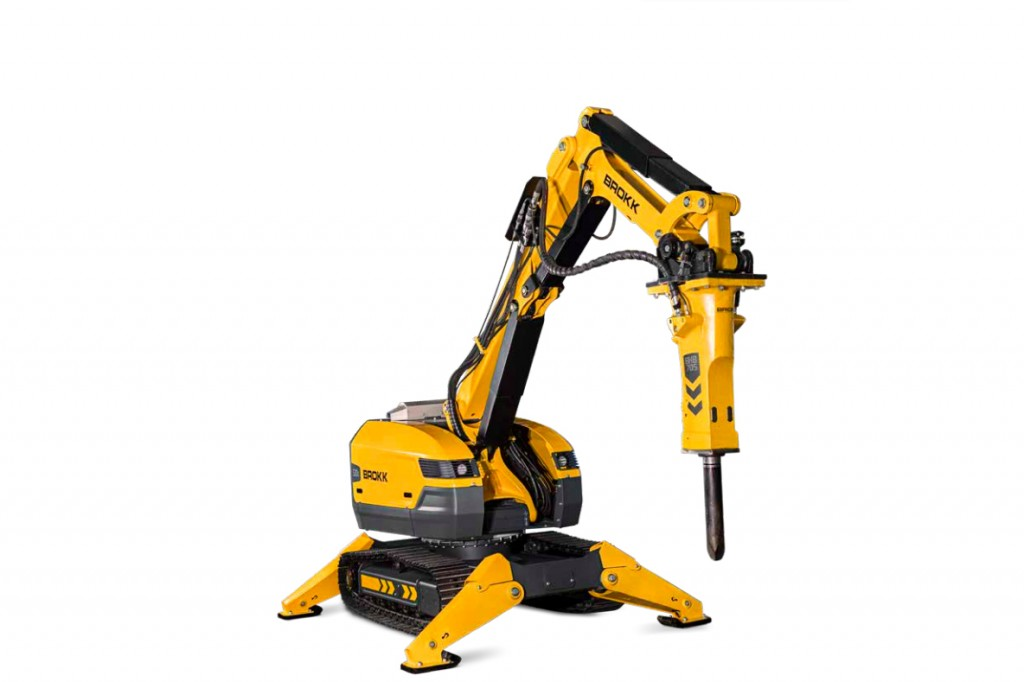 Brokk USA - Brokk 520D Demolition Robots