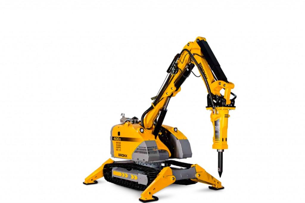 Brokk USA - Brokk 400D Demolition Robots